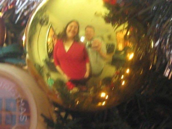 chelle ian christmas ornament